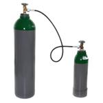Umfüllschlauch für Gasflaschen kurz 1 Meter