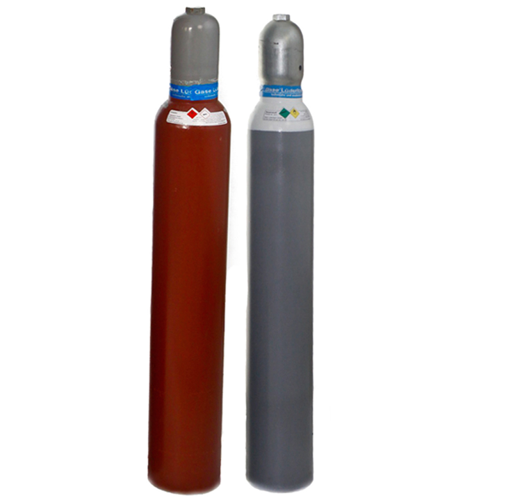 10 liter acetylen und sauerstoff gas im flaschen set. Black Bedroom Furniture Sets. Home Design Ideas