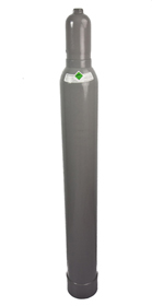 Kohlensäureflasche 10kg, gefüllt, lange Ausführung
