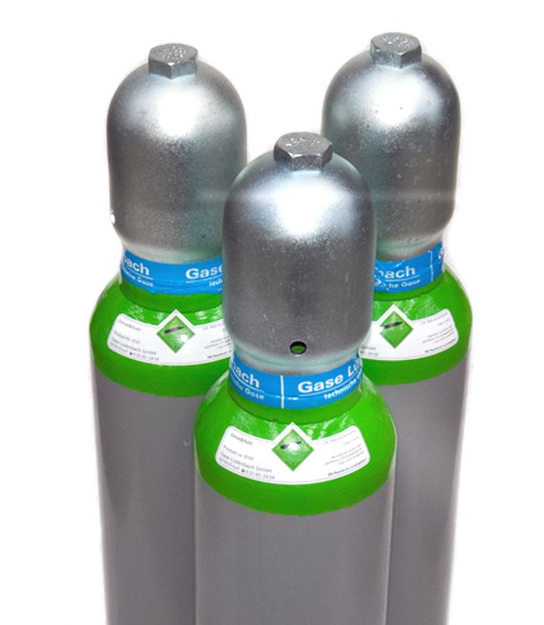 Kaufflasche Druckluft 200 bar 10 Liter gefüllt