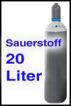 Sauerstoff 20 Liter fabrikneu